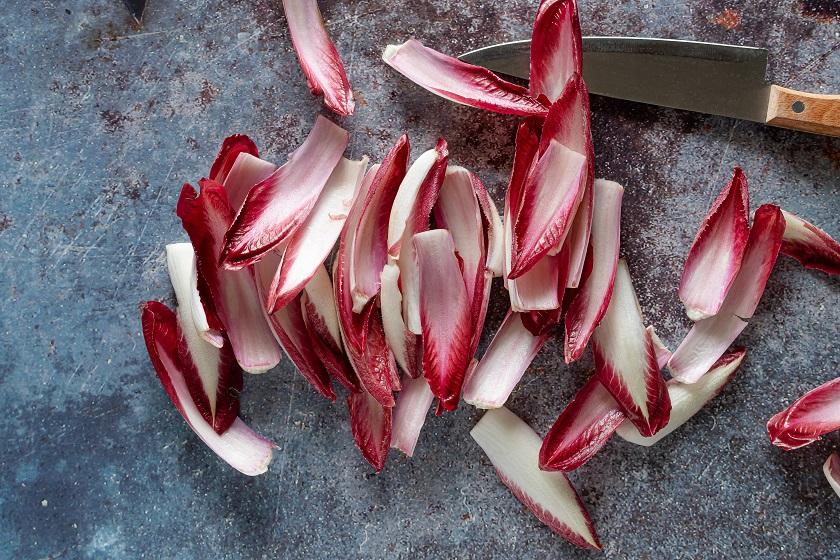 Achicoria roja - Unsplash Micheile Henderson