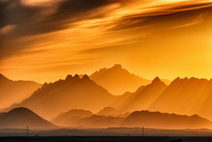 Atardecer en montañas - Unsplash Sergey-Pesterev