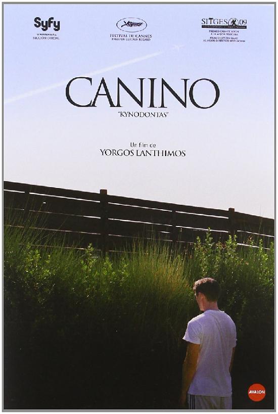 Canino película de Yorgos Lanthimos