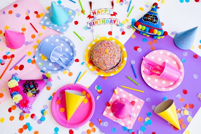 Cumpleaños con gominolas