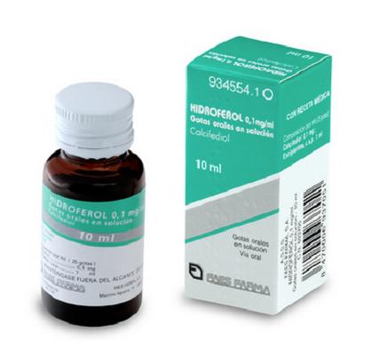 Hidroferol 0,1 mg ml