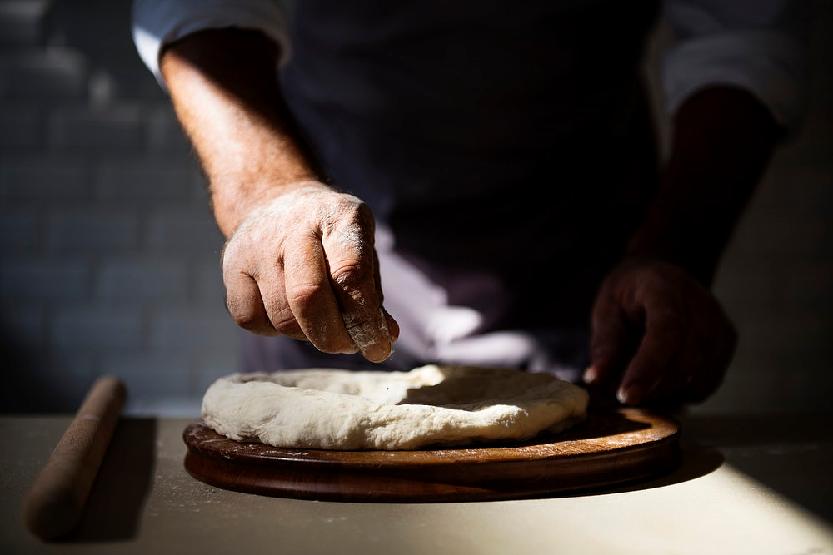 Preparación de pan natural